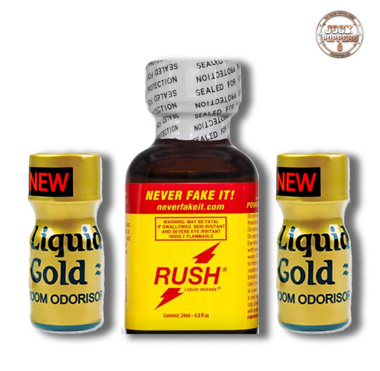 Liquid Gold & Rush Multipack